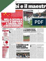 La Gazzetta dello Sport 20-10-2016 - Calcio La Nuova Cina - Pag.1