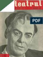 Revista Teatrul, nr. 10, anul V, octombrie 1960