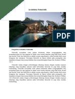 Arsitektur Futuristik (Untuk KONSEP)