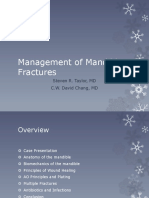 Management of Mandible Fractures
