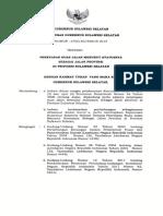 SK Status Jalan Provinsi Sulawesi Selatan 2015