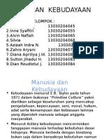 Filsafat IPA Manusia Dan Kebudayaan