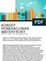 Konsep Pembangunan Waterfront Development
