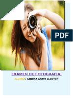 Sandra Anaya Examen de Fotografia