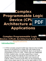 Complex Programmable Logic Device (CPLD) Architecture and Its Applications