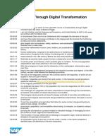 OpenSAP Sbi2 Week 3 Transcript