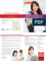 Brochure_Master of Science in Project Management