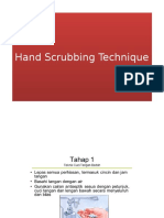 Hand Scrubbing Technique
