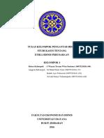 Studi Kasus Etika Bisnis (Kelompok)