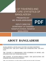Apcas 14 10.3 Status of Fisheries and Aquaculture Statistics of Bangladesh