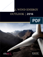 Global Wind Energy Outlook 2016