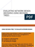Kuliah Evaluating Network Design Decisions Using Decision Trees