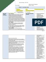 backward design unit plan