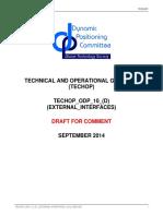 Techop External Interfaces