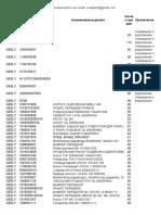 GEELY parts catalog-CINA AUTO PARTS
