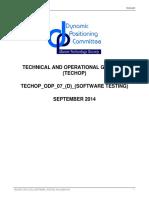 TECHOP Software Testing