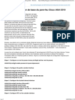 Tutoriel Configuration de Base Du Pare-feu Cisco ASA 5510