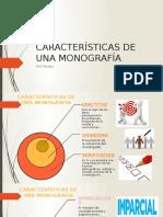 Características de Una Monografía