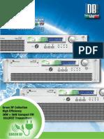 DB-03 FM Compact Transmitter 30W 5KW-DPM Green RF Series DB_8_LR_2