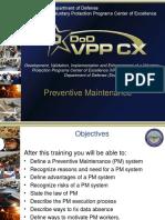 232 - Preventive Maintenance Training