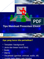 Tips Membuat Presentasi Efektif