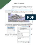 Surface Analysis Tools_Jordan Romora S_40933