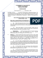 Balochistan Province Civil Servants Leave Rules 1981