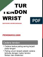 Ruptur Tendon Wrist2