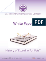 HISTORY OF ESCOZINE FOR PETS™