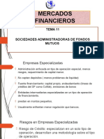 Tema 11_sociedades Administradoras de Fondos Mutuos