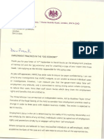 Jane Ellison MP Reply Regarding Self-employment 13.10.16