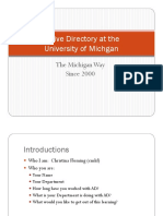 Active Directory Orientation