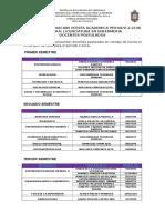 Variacion de La Oferta Academica Periodo 2-2016 Lic. Enfermeria