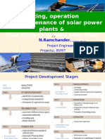 Best Practices in Solar PV Systems Operation and Maintenance