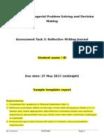 Sample Template Report