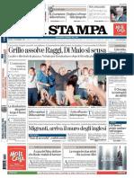La Stampa - 8 Settembre 2016