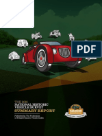 National Historic Vehicle Survey 2016
