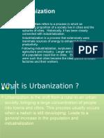 Urbanization Class- Vii
