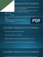 LEUCEMIA GRANULOCITICA CRÓNICA