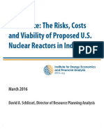 Bad Choice the Risks Costs and Viability of Proposed US Nuclear Reactors in India March 2016