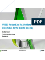 Presentation 9960 2015 AV9960 IrayWorkflows Presentation