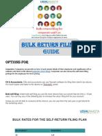 Bulk Return Filing