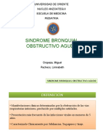 SINDROME BRONQUIAL OBSTRUCTIVO CRONICO