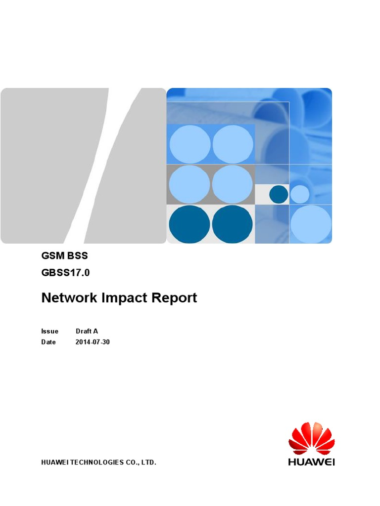 Network Impact Reportgbss170 Draft A Lte Telecommunication Networkdiagramdraft Networks