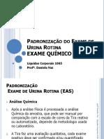 7. Padronização Do Exame Químico Da Urina Rotina LC 1065
