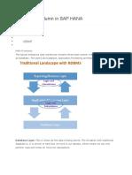Calculated Column in SAP HANA
