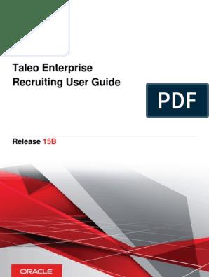 Taleo Recruitment | Recruitment | Icon (Computing)