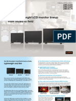 Sony Broadcast Monitor LMD-A Serires