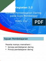 2.2. Konsep Dan Prinsip Dasar Pembelajaran Daring