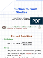 EE251 Note 1 - Introduction to Fault Studies